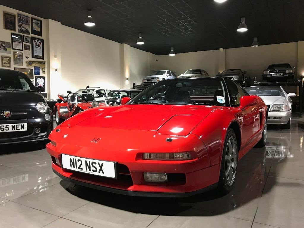 1995 HONDA NSX 3.0 FORMULA RED UK SUPPLIED FULL HONDA HISTORY For Sale (picture 3 of 6)
