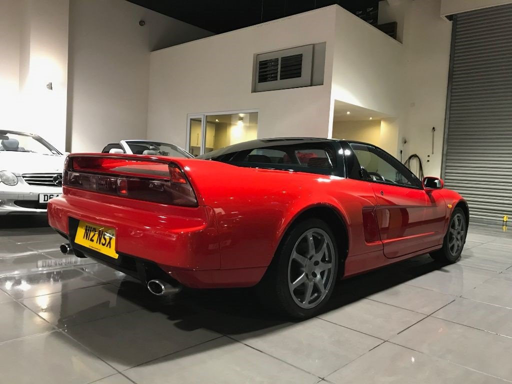 1995 HONDA NSX 3.0 FORMULA RED UK SUPPLIED FULL HONDA HISTORY For Sale (picture 5 of 6)