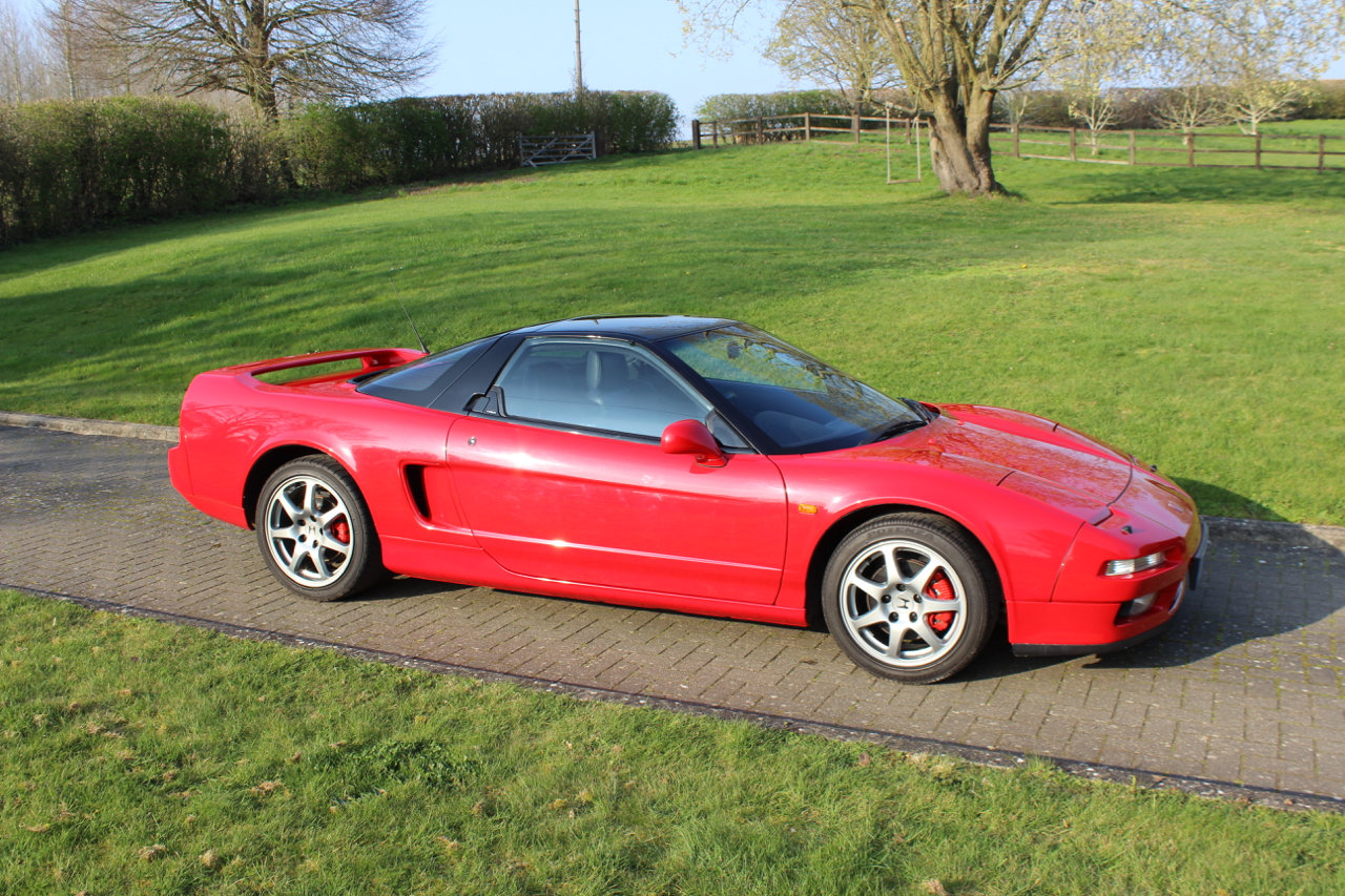 1991 HONDA NSX AUTO COUPE - 48,600 miles SOLD (picture 1 of 6)