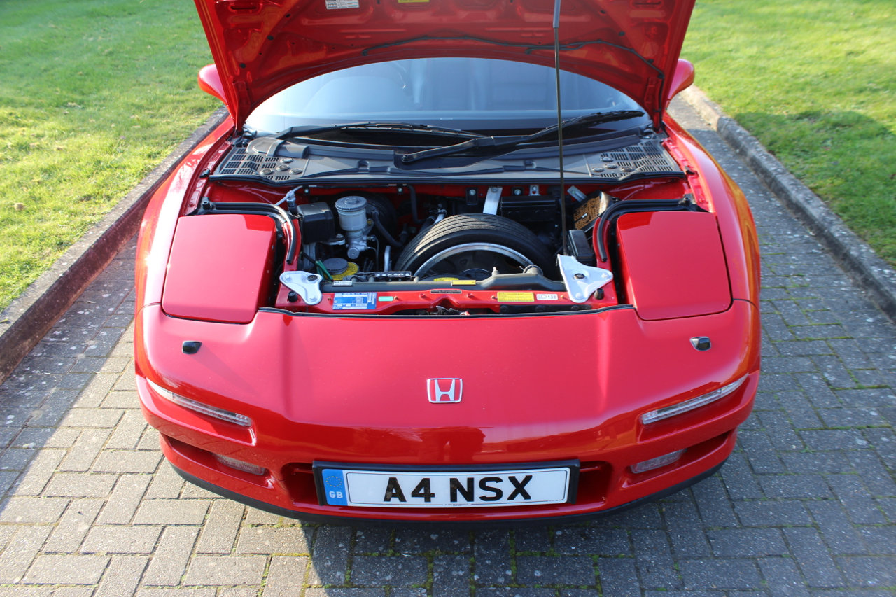1991 HONDA NSX AUTO COUPE - 48,600 miles SOLD (picture 4 of 6)