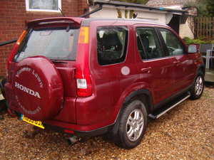 2003 Top of range HONDA crv Manual PRICE REDUCED