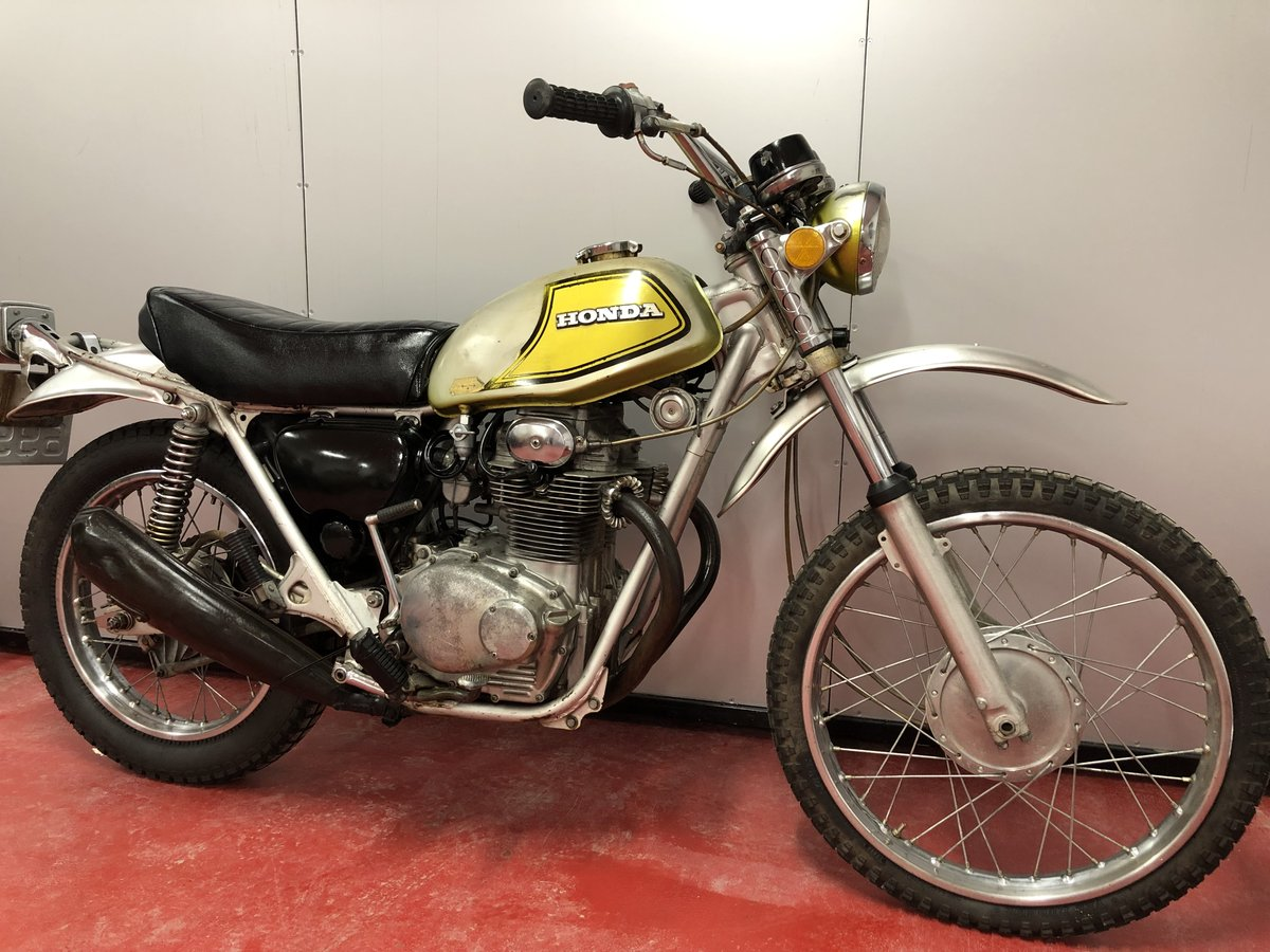 1972 HONDA SL 350 TWIN CLASSIC TRAIL TRIAL VERY RARE £3450 PX XL  For Sale (picture 1 of 5)