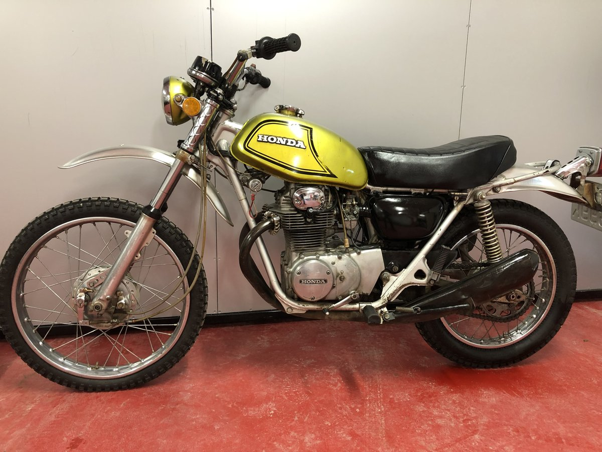1972 HONDA SL 350 TWIN CLASSIC TRAIL TRIAL VERY RARE £3450 PX XL  For Sale (picture 2 of 5)