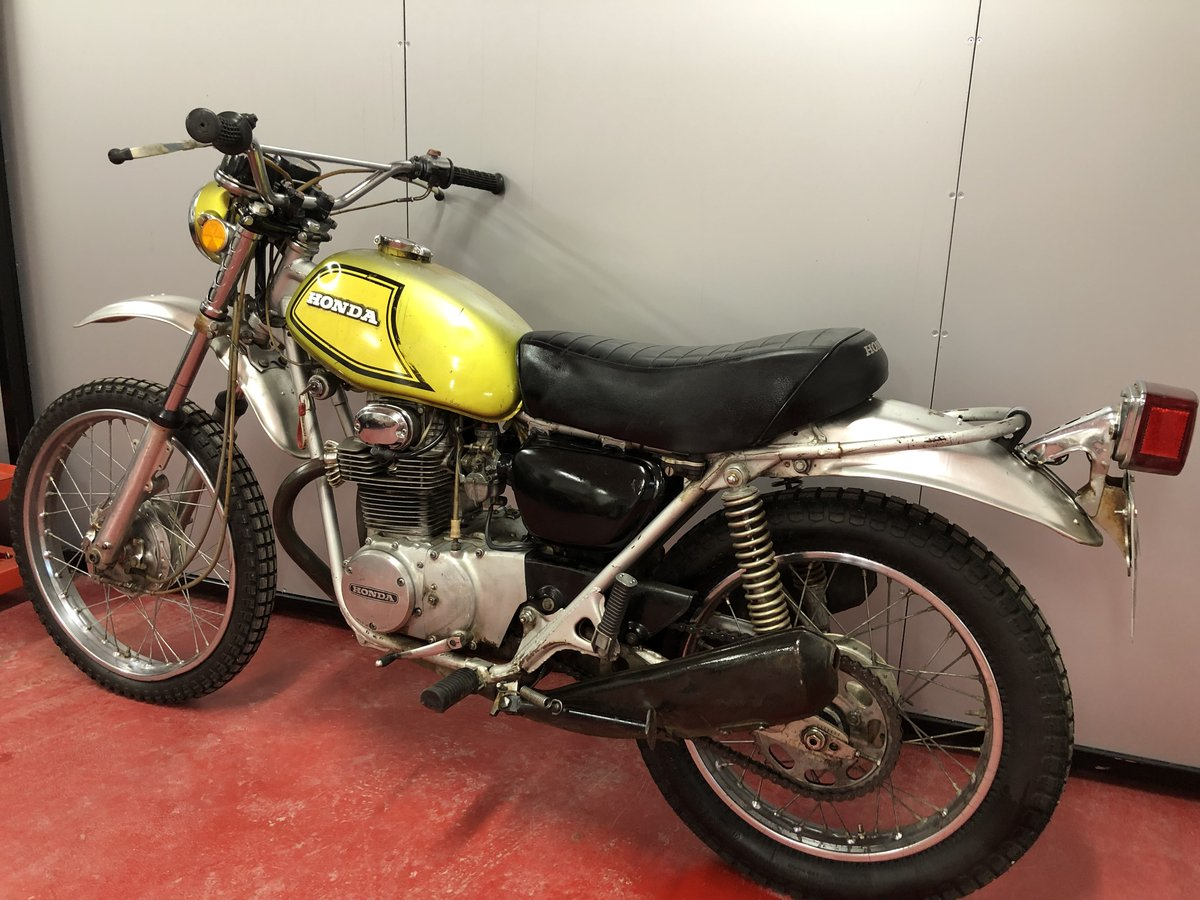 1972 HONDA SL 350 TWIN CLASSIC TRAIL TRIAL VERY RARE £3450 PX XL  For Sale (picture 3 of 5)