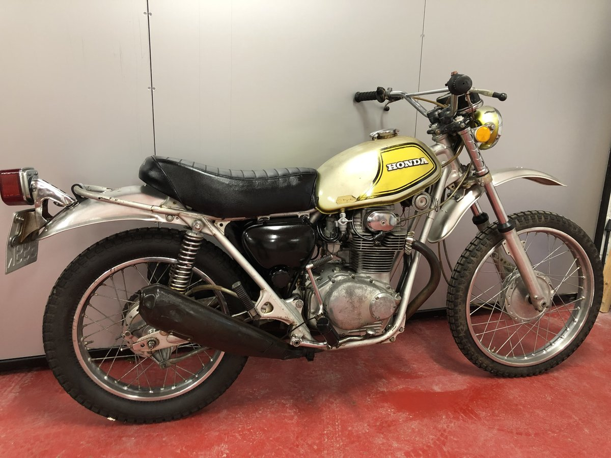 1972 HONDA SL 350 TWIN CLASSIC TRAIL TRIAL VERY RARE £3450 PX XL  For Sale (picture 4 of 5)