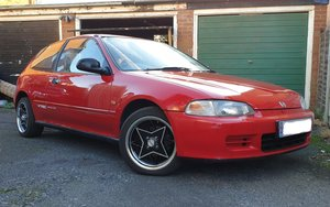 1992 Honda Civic ESI For Sale