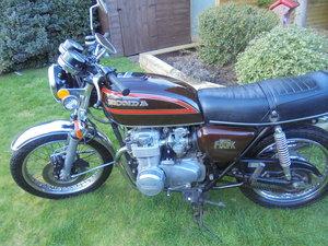 honda cb550 k 1979  very low milage original bike