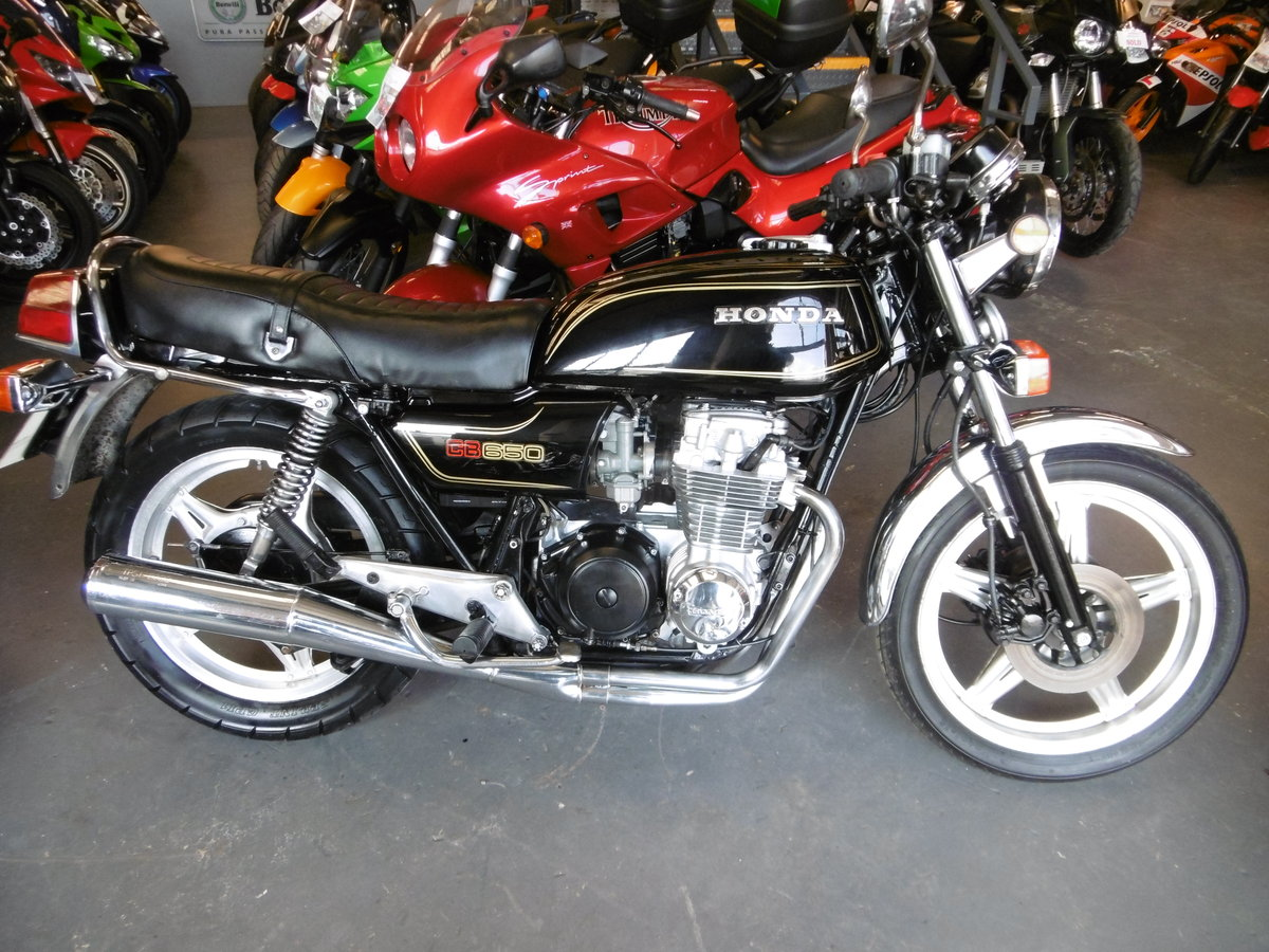 1980 Honda CB650 Great condition SOLD (picture 1 of 6)