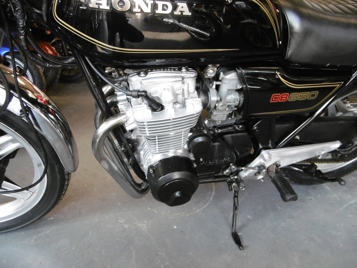 1980 Honda CB650 Great condition SOLD (picture 5 of 6)