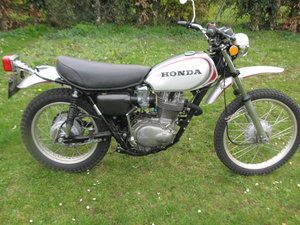 Honda XL250 First Year KO 1972 For Sale