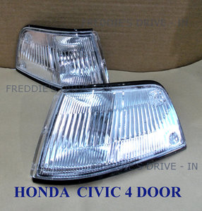 1989 HONDA_CIVIC_(4 DOOR) Clear Corner / Side- Lamps For Sale