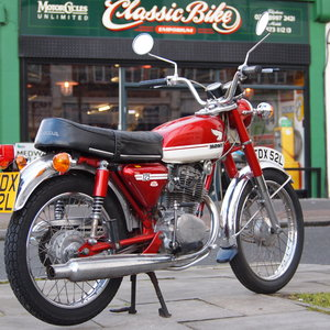 1973 CB125 S Ready To Ride, All Original, SOLD TO LAINYA. SOLD