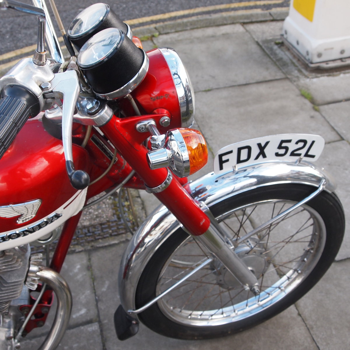 1973 CB125 S Ready To Ride, All Original, SOLD TO LAINYA. SOLD (picture 4 of 6)