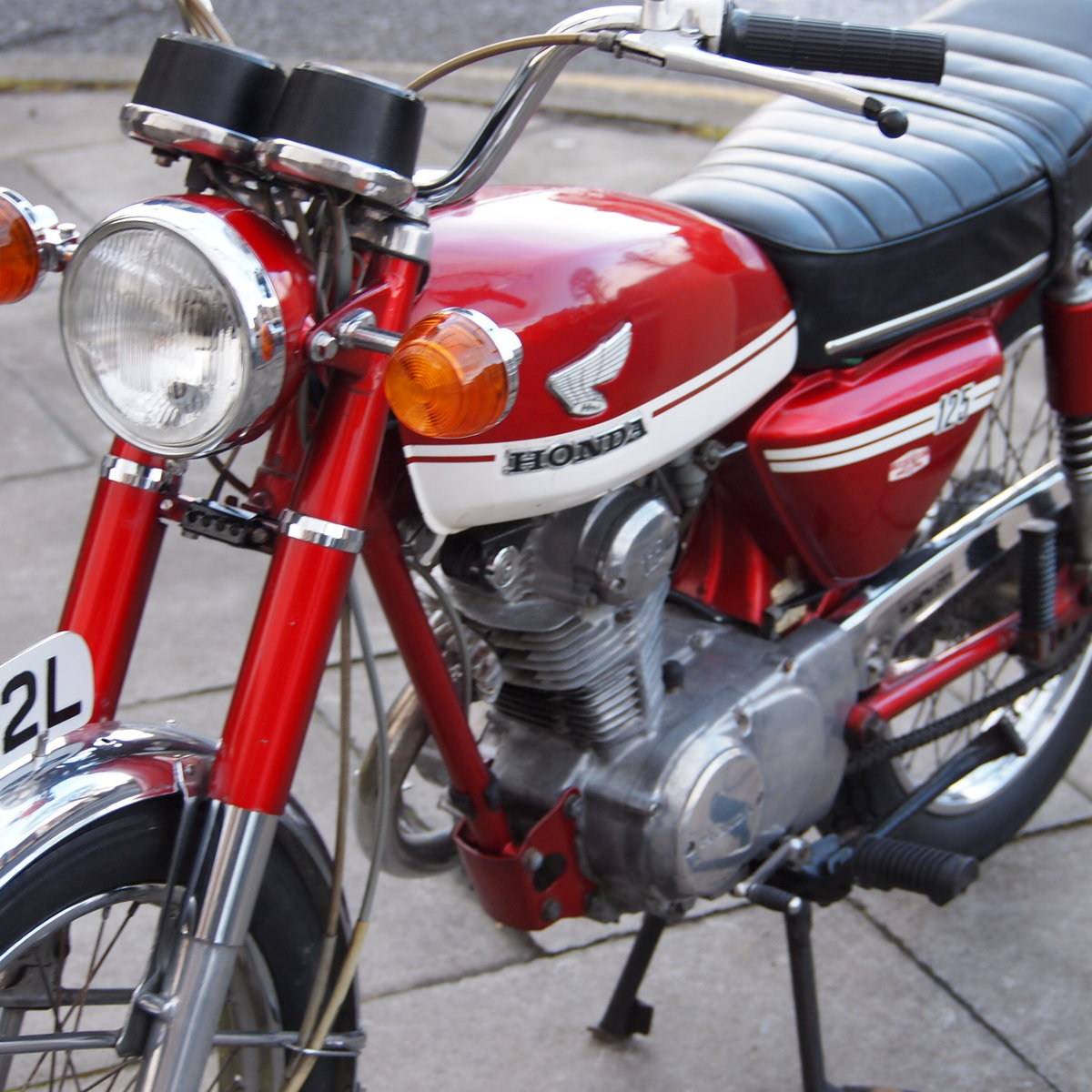 1973 CB125 S Ready To Ride, All Original, SOLD TO LAINYA. SOLD (picture 5 of 6)