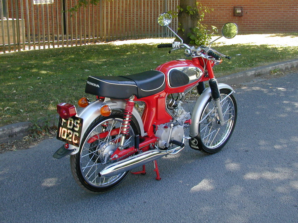 1965 HONDA SPORT 90 S90 1960`s - VERY NICE BIKE - VERY RARE!!  For Sale (picture 3 of 6)