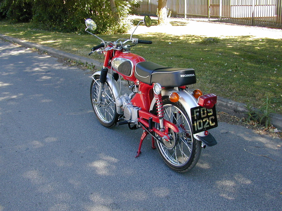 1965 HONDA SPORT 90 S90 1960`s - VERY NICE BIKE - VERY RARE!!  For Sale (picture 4 of 6)