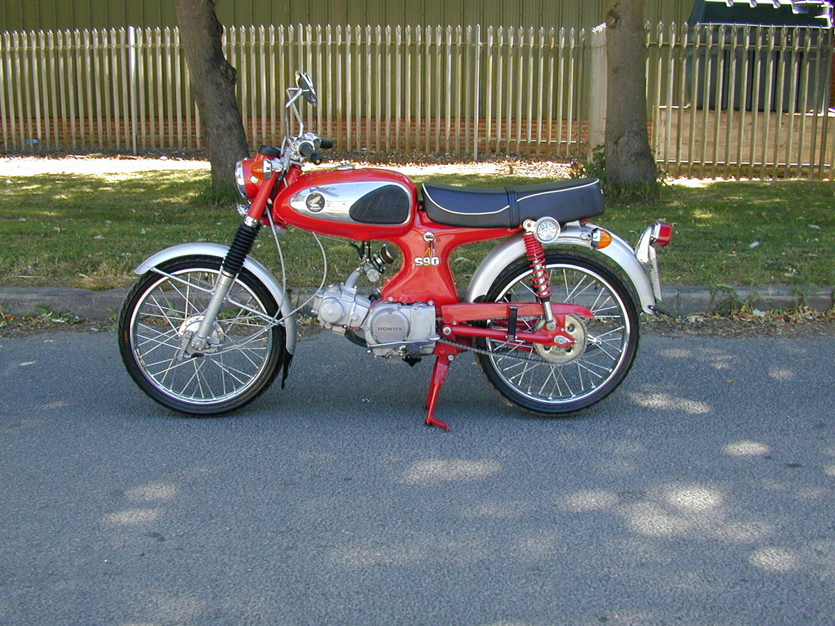 1965 HONDA SPORT 90 S90 1960`s - VERY NICE BIKE - VERY RARE!!  For Sale (picture 5 of 6)