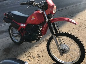 **REMAINS AVAILABLE**1983 Honda XL250 R SOLD by Auction