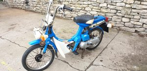 **APRIL AUCTION**1980 Honda Express SOLD by Auction