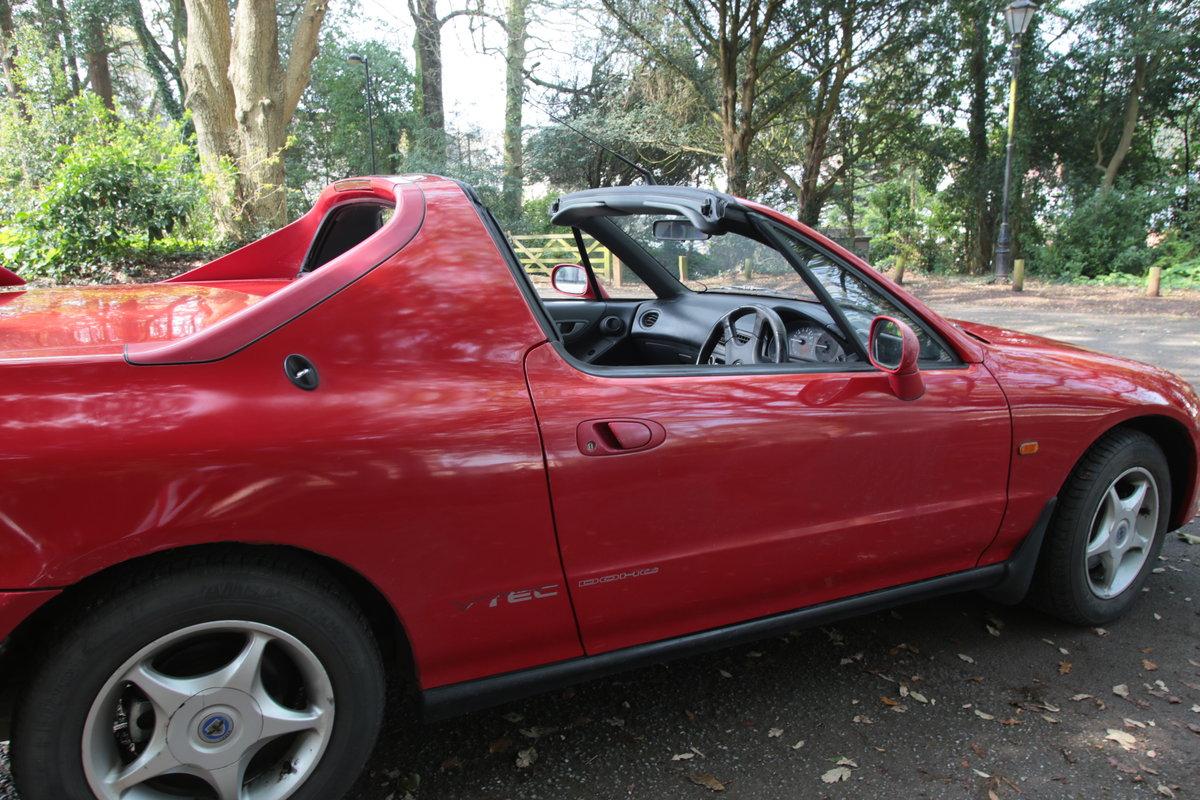 1992 Classic Honda CR-X VTEC B16A model 170bhp transtop For Sale (picture 4 of 6)