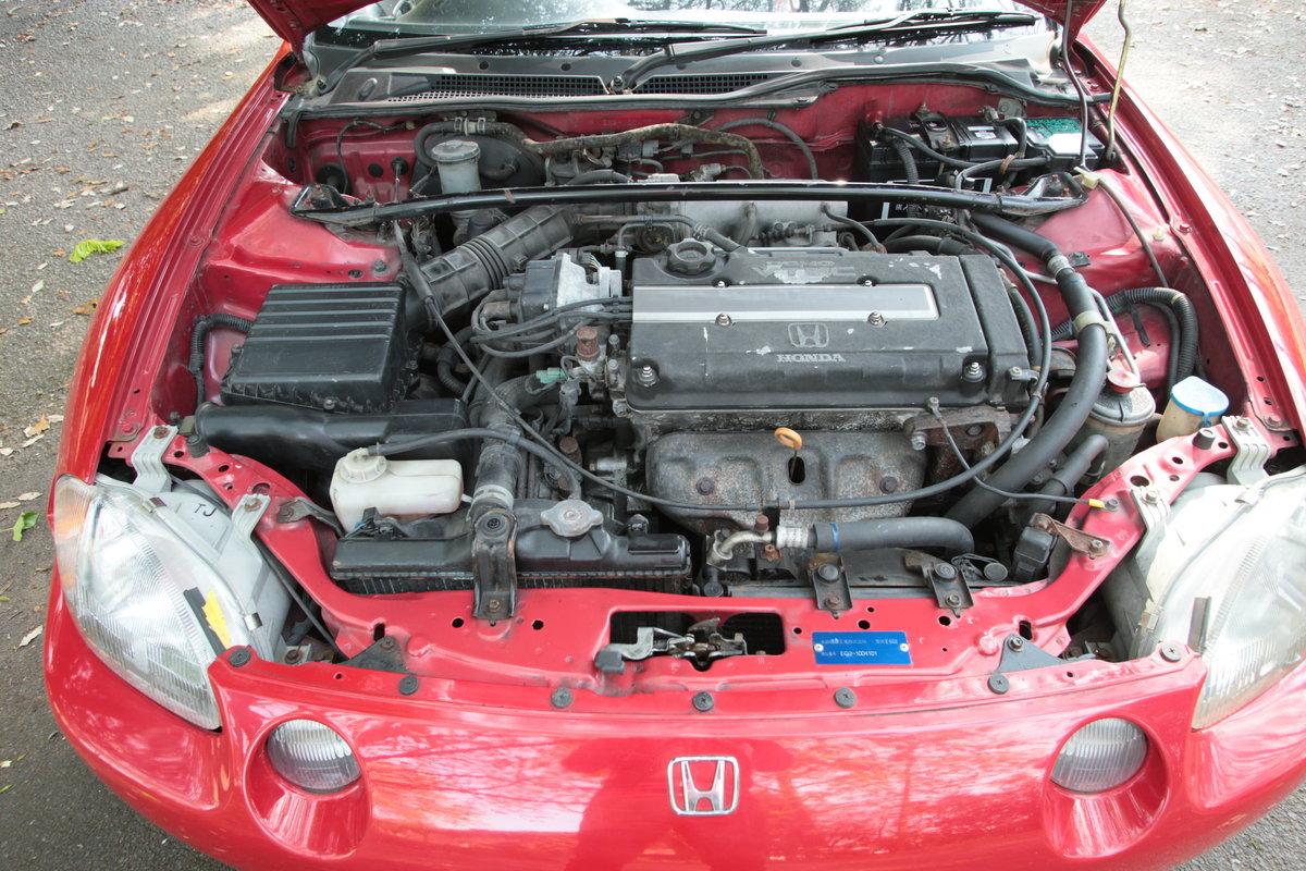 1992 Classic Honda CR-X VTEC B16A model 170bhp transtop For Sale (picture 6 of 6)