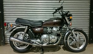 VERY RARE 1978 HONDA CB750A HONDAMATIC WITH V5C  For Sale