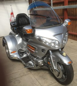 2007 goldwing gl1800 lehman monarch trike