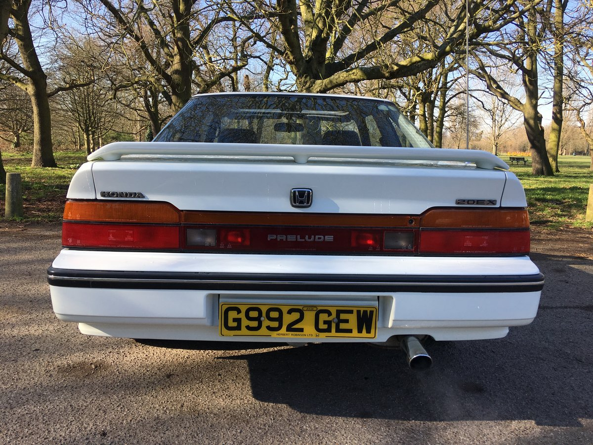 Honda Prelude 1989 Manual 1 owner low mileage  For Sale (picture 3 of 6)