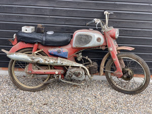 1965 Honda C110 Project Bike