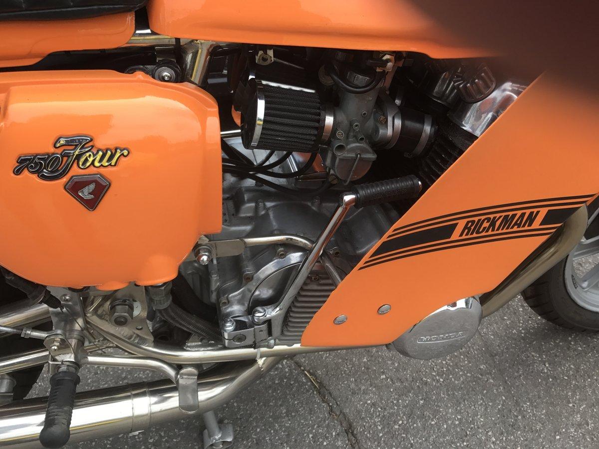 1976 Rickman Honda CR750 genuine factory bike  For Sale (picture 5 of 6)