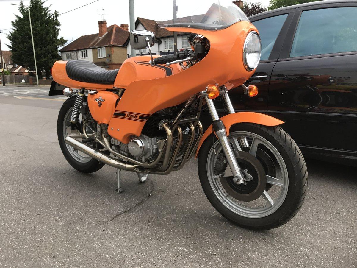 1976 Rickman Honda CR750 genuine factory bike  For Sale (picture 2 of 6)