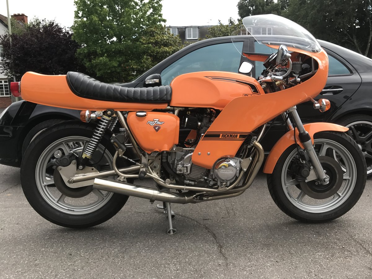 1976 Rickman Honda CR750 genuine factory bike  For Sale (picture 1 of 6)