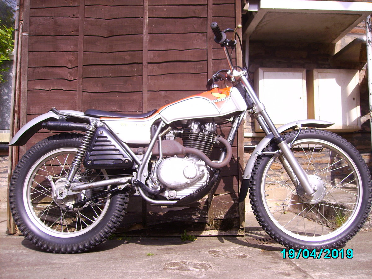 1975 Honda TL250 trials SOLD (picture 1 of 6)