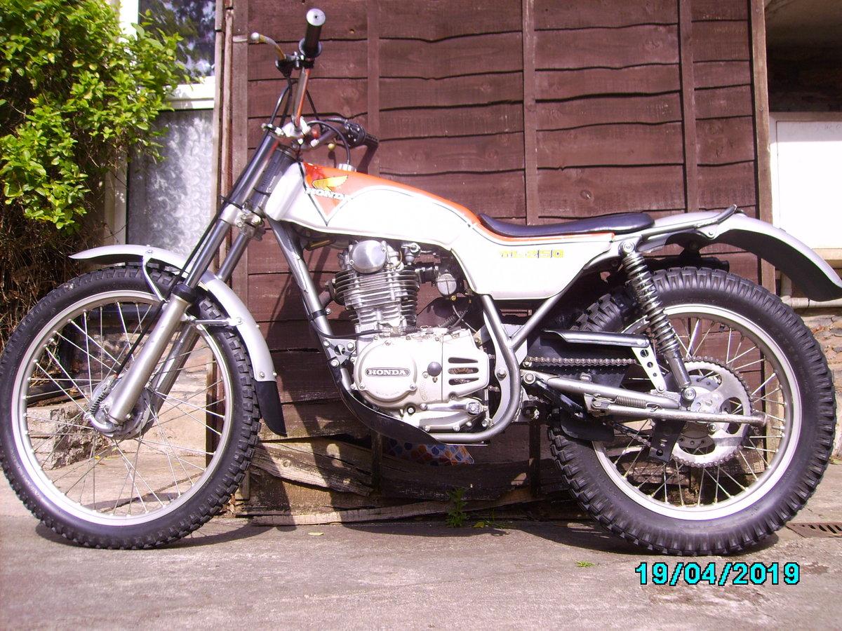1975 Honda TL250 trials SOLD (picture 4 of 6)