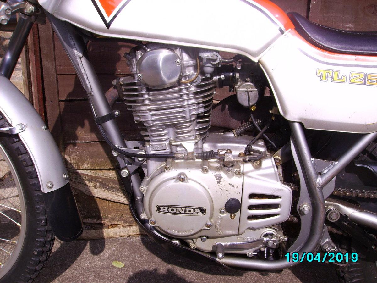 1975 Honda TL250 trials SOLD (picture 5 of 6)