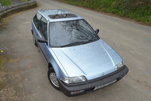1991 Honda Civic Dual Carburettor SOLD