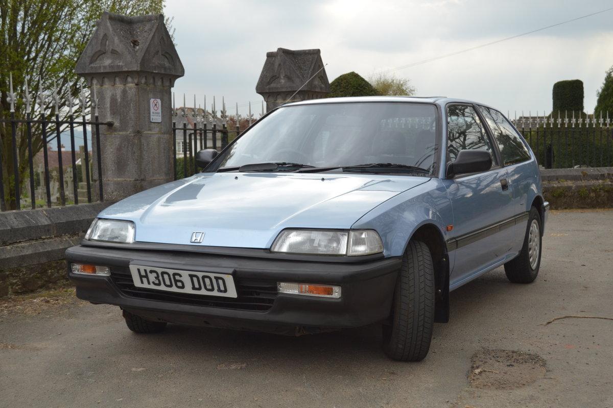 1991 Honda Civic Dual Carburettor SOLD (picture 2 of 6)