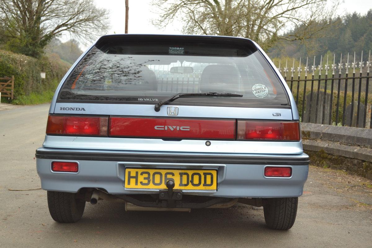 1991 Honda Civic Dual Carburettor SOLD (picture 3 of 6)