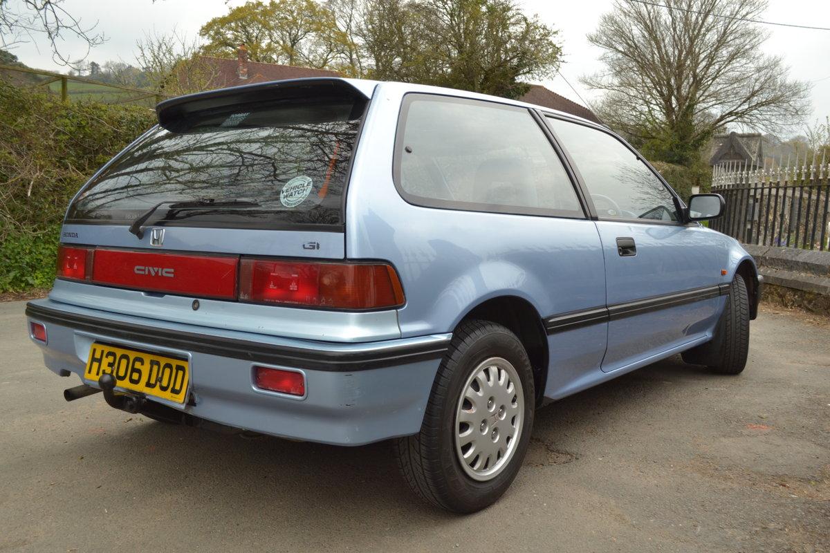 1991 Honda Civic Dual Carburettor SOLD (picture 4 of 6)