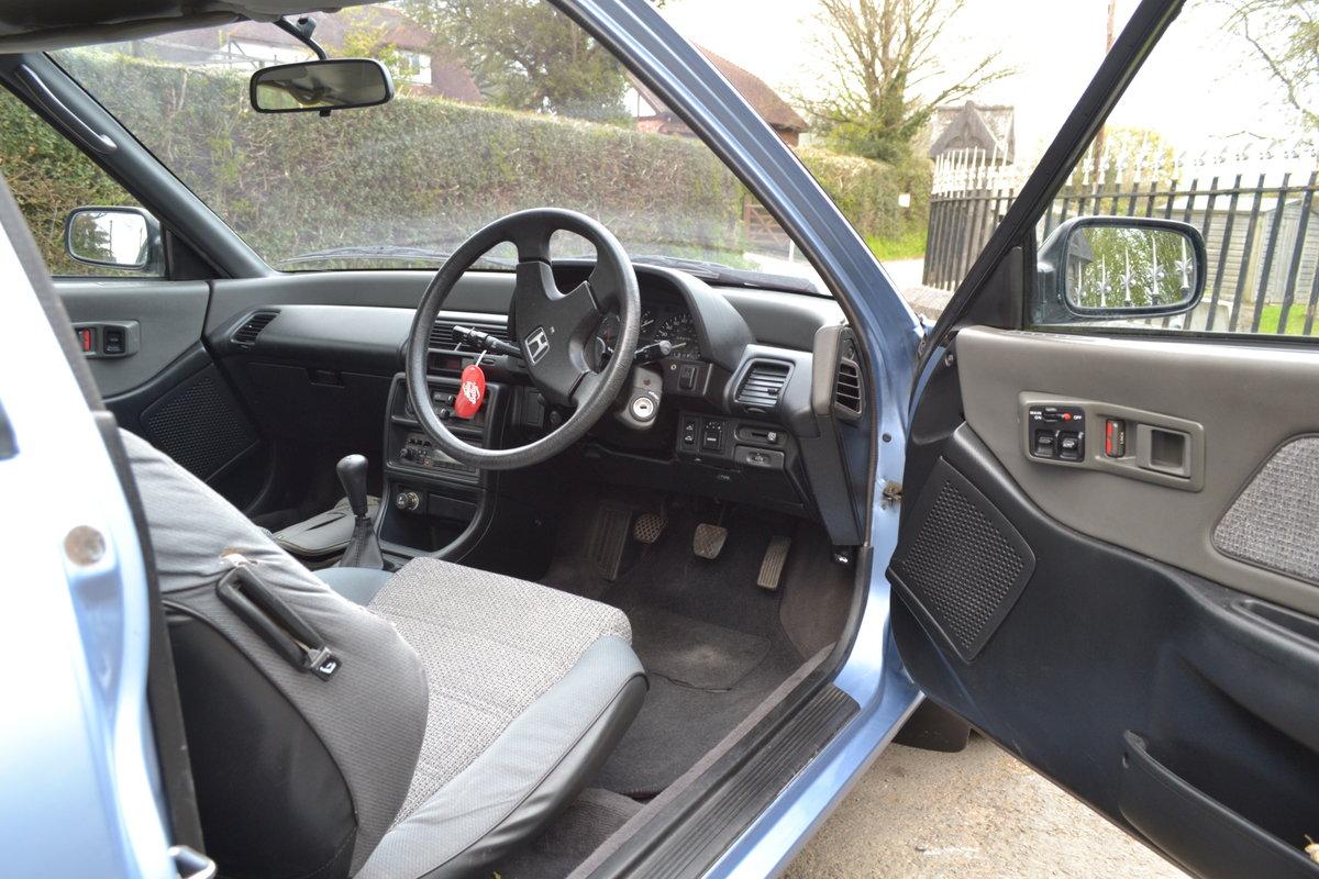 1991 Honda Civic Dual Carburettor SOLD (picture 5 of 6)