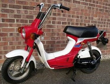 1981 Honda Caren 50 cc 2 stroke twist and go