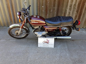 1981 Honda CD200 Benley