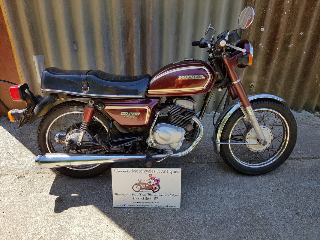 1981 Honda CD200 Benley For Sale (picture 2 of 5)
