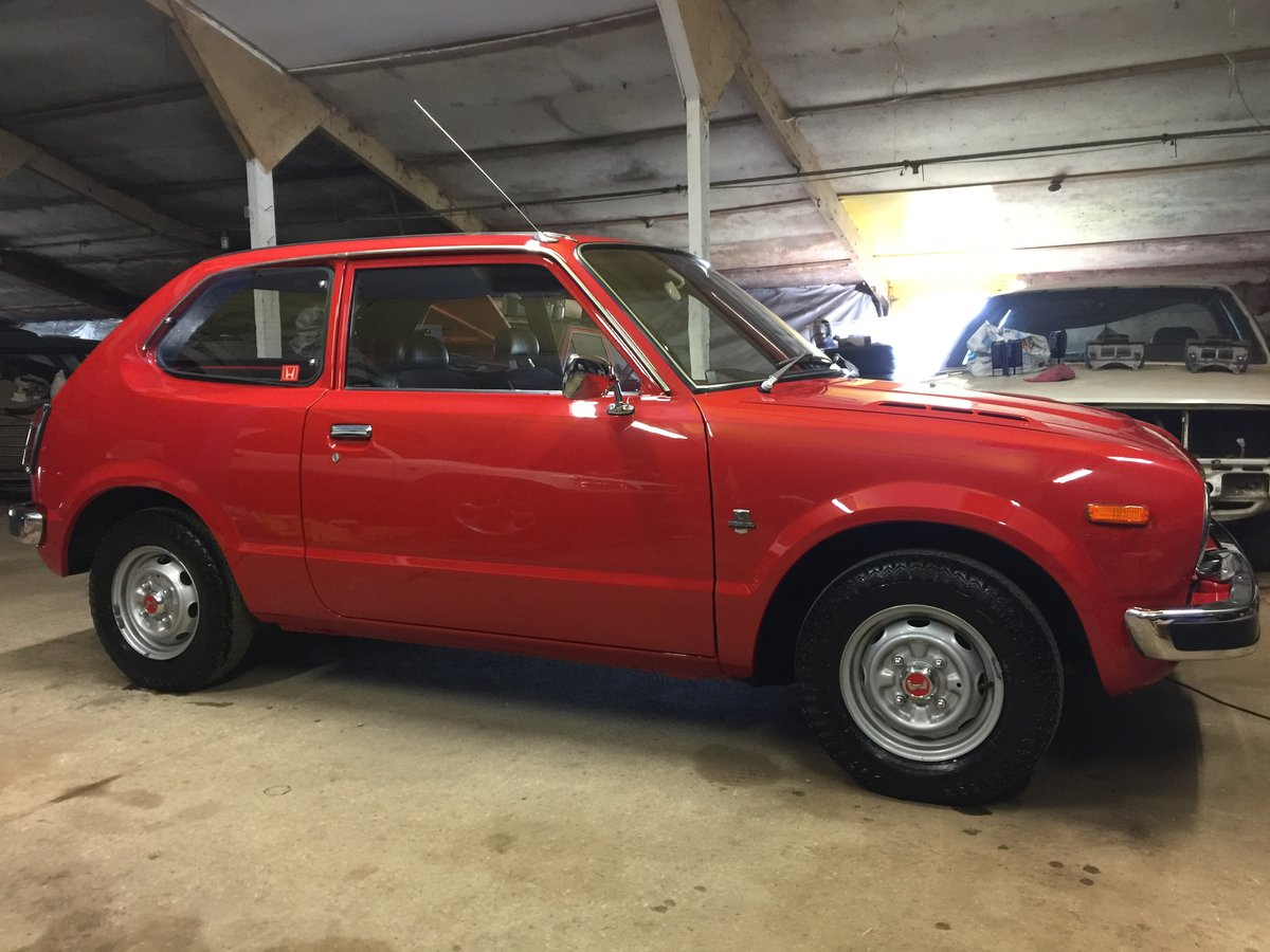 1977 COLLECTORS/MUSEUM QUALITY HONDA CIVIC 1200 MK1 For Sale (picture 1 of 6)