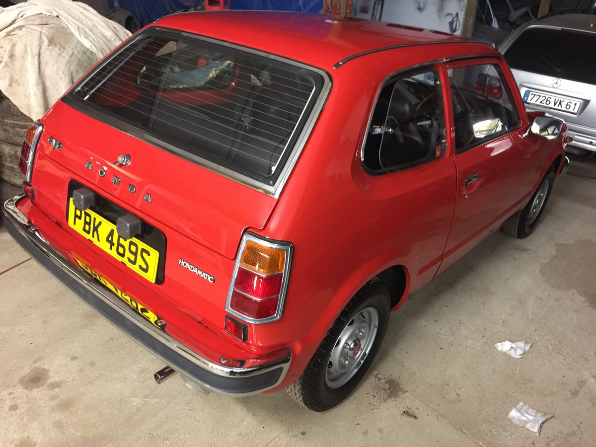 1977 COLLECTORS/MUSEUM QUALITY HONDA CIVIC 1200 MK1 For Sale (picture 2 of 6)