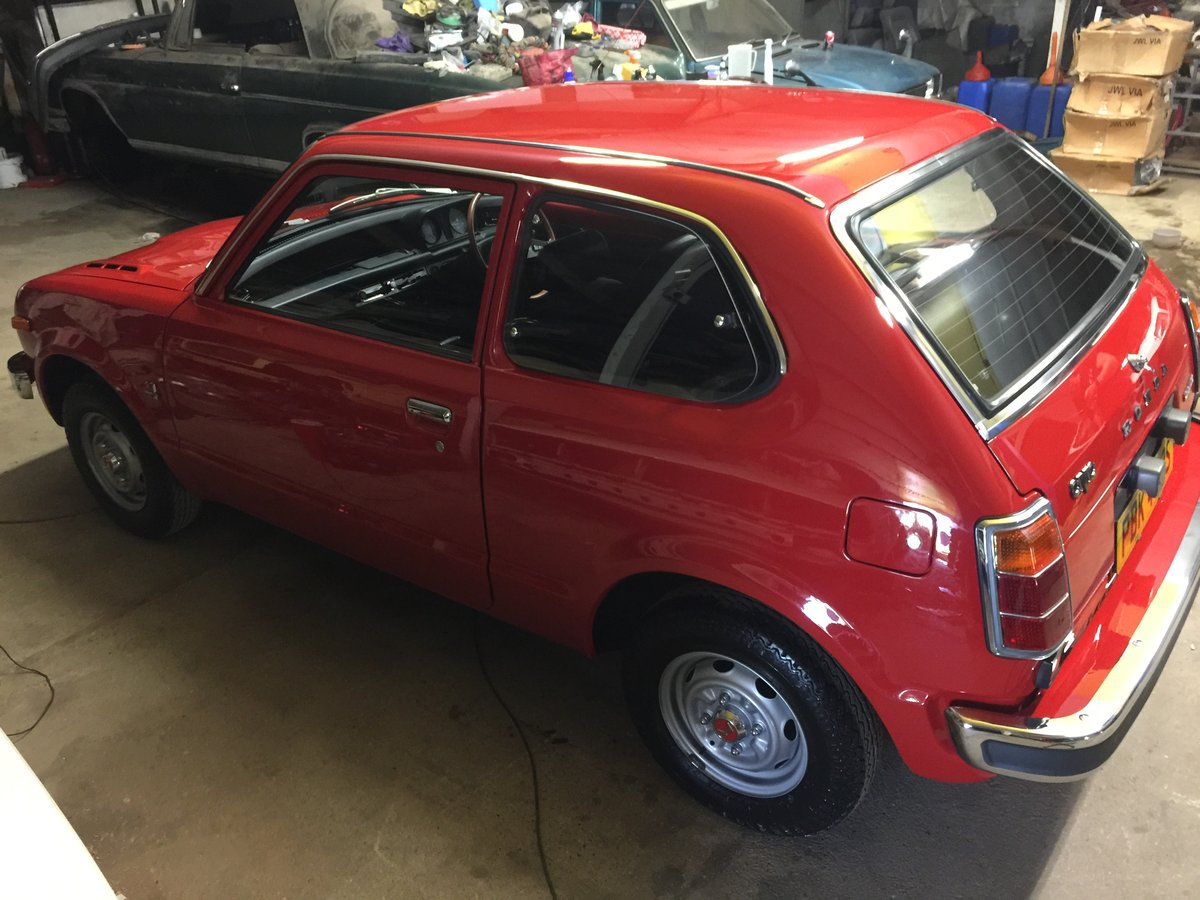 1977 COLLECTORS/MUSEUM QUALITY HONDA CIVIC 1200 MK1 For Sale (picture 4 of 6)