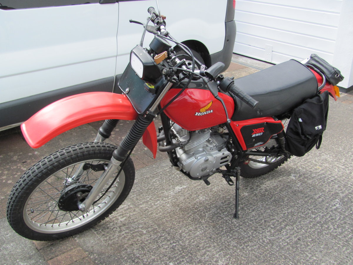 1983 Honda XL250s twin shock trail bike For Sale (picture 1 of 3)