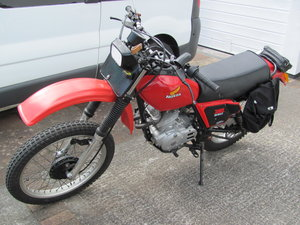 1983 Honda XL250s twin shock trail bike
