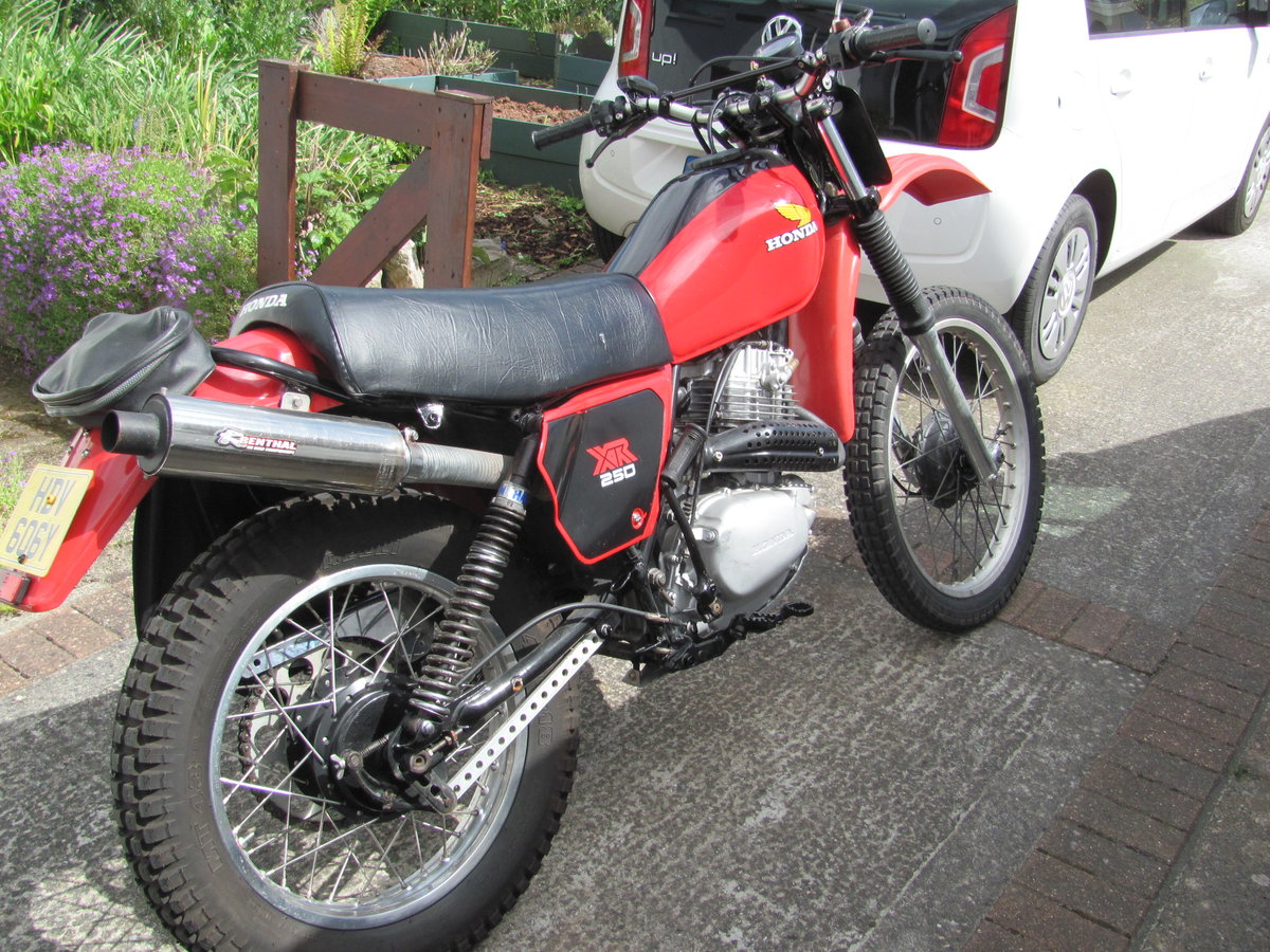1983 Honda XL250s twin shock trail bike For Sale (picture 2 of 3)