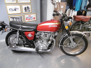 1972 Honda CB450 K6 STUNNING TIMEWARP BIKE  SOLD